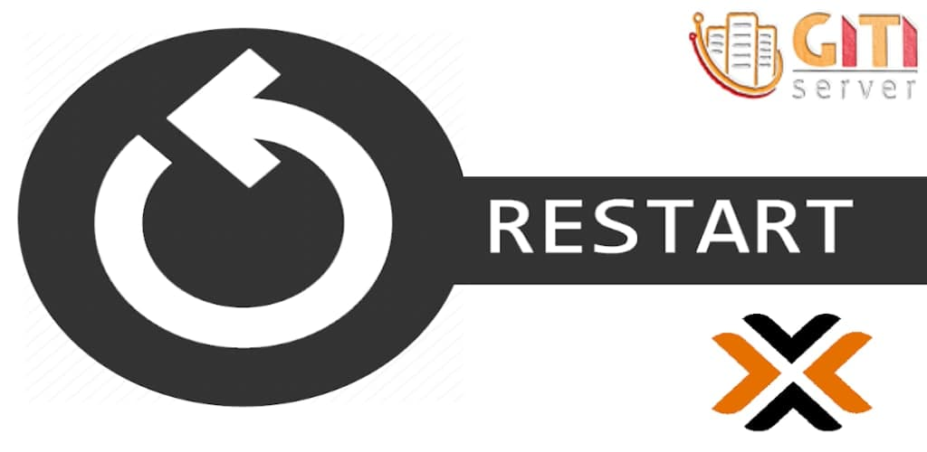 نحوه restart کردن سرور مجازی در Proxmox