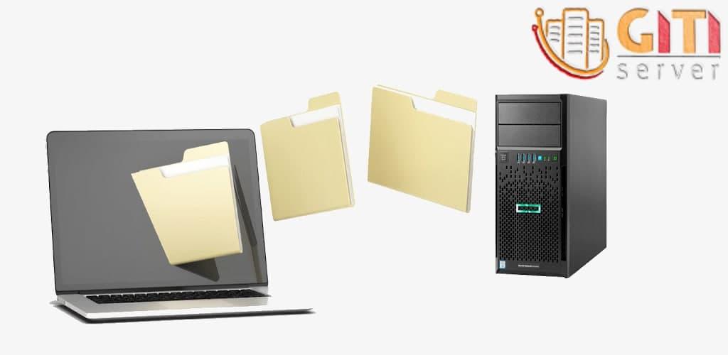 آپلود فایل روی سرور و یا دانلود از آن همراه یا بدون نرمافزار